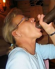 Real housewives sucking huge black cocks