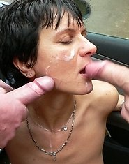 Get that mouth filled with cum