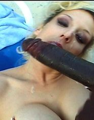 Black stud gives this MILF pussy hard cock treatment