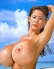 Minka asian mega-tits